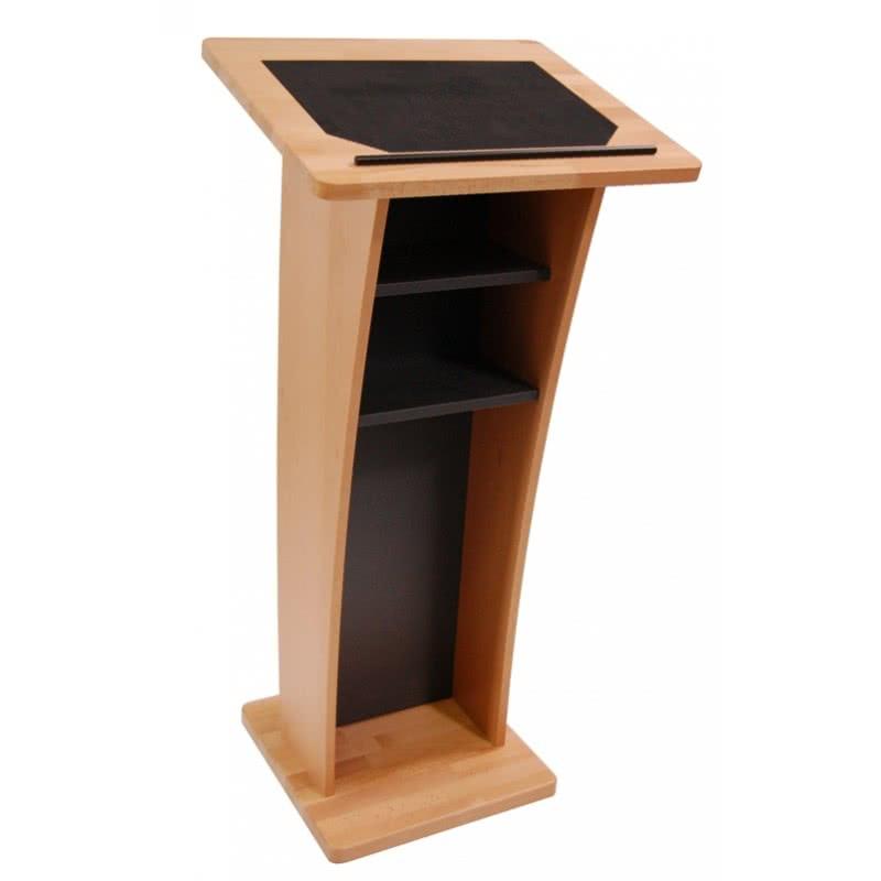 pupitre de conf rence en bois unified av. Black Bedroom Furniture Sets. Home Design Ideas