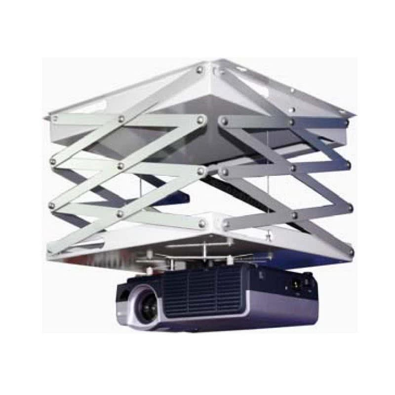 Support vid oprojecteur motoris avec finition de dalle - Support motorise videoprojecteur plafond ...