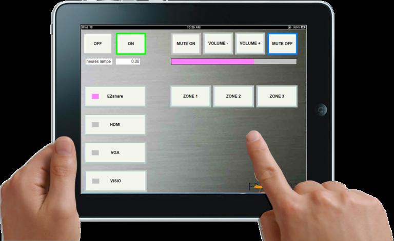 Paddy Mini IP interface tablette smarphone mac pc