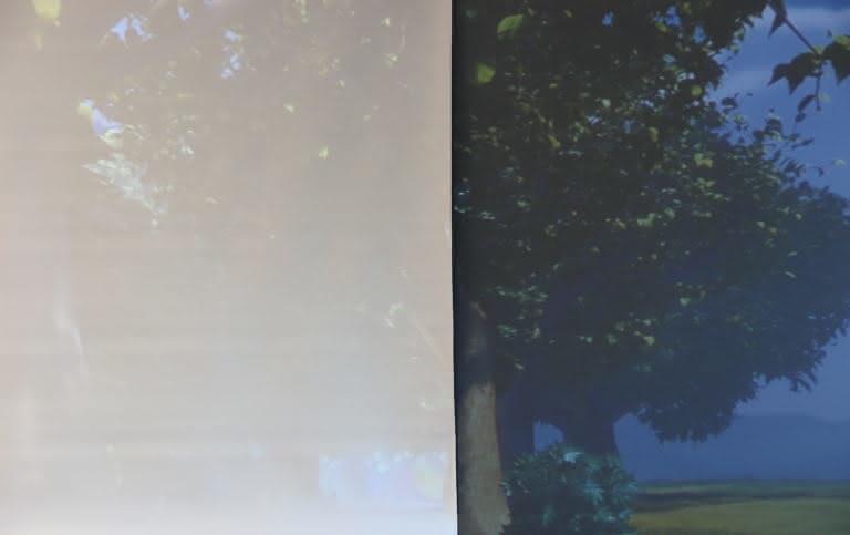 EZshow Ultramat comparatif contraste vert